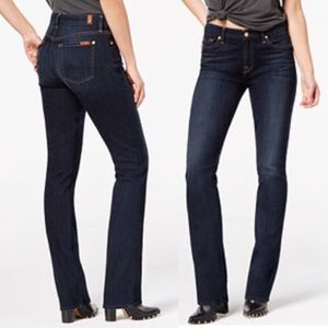 7 For all Mankind Straight Standard Leg Jeans  30